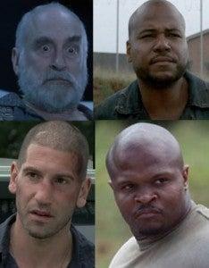 The Walking Dead Bald Men