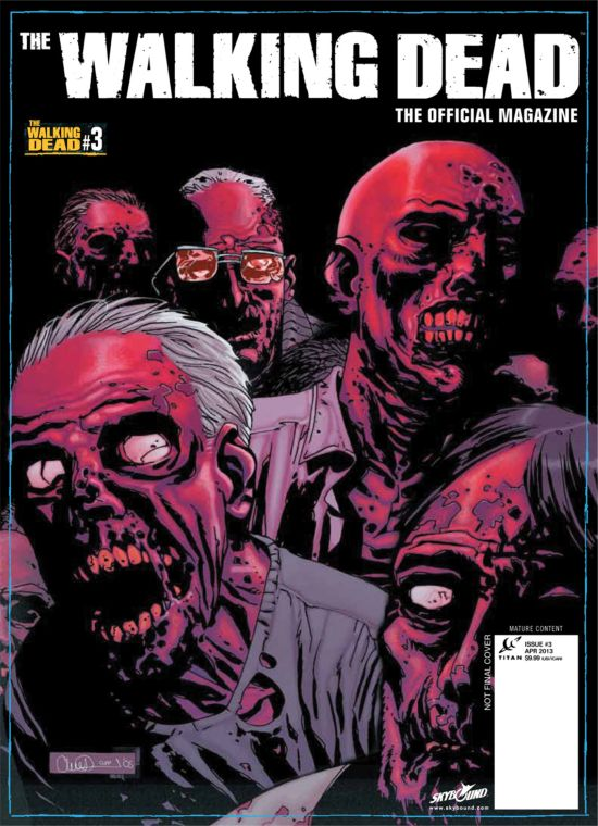 The Walking Dead Magazine #3 alternate cover