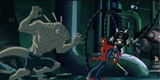 ultimate-spider-man-lizard