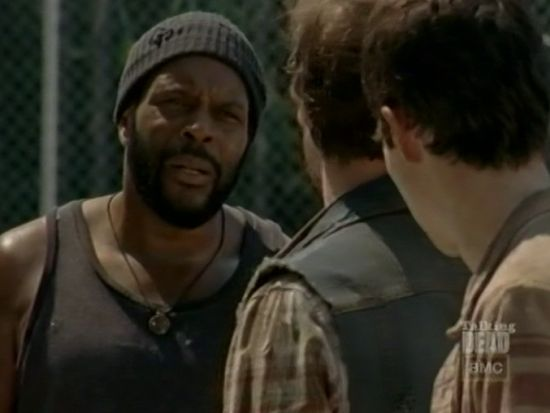 The Walking Dead The Suicide King Tyreese