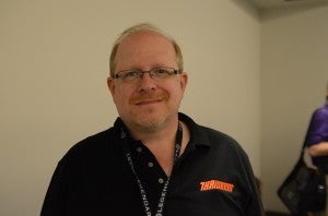 Mark Waid at San Diego Comic Con 2012