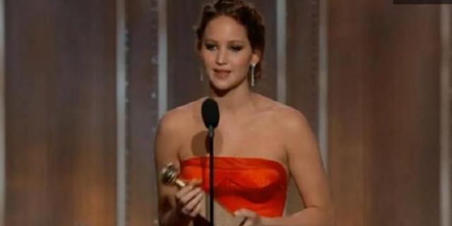 Watch-Jennifer-Lawrences-Golden-Globes-acceptance-speech-I-beat-Meryl
