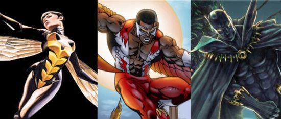 Avengers 2 Seven Team Members