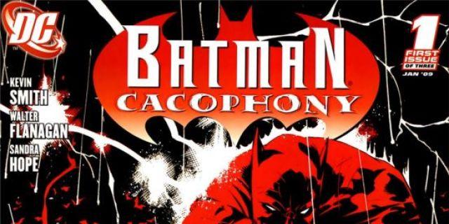 Batman Cacophony 1 Kevin Smith's Batman Cacophony