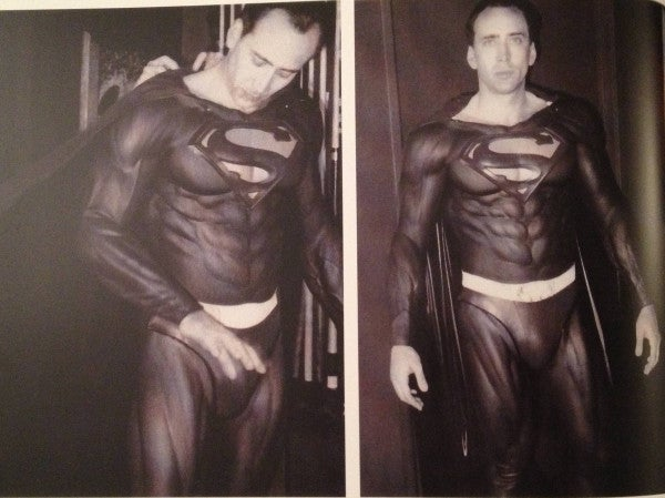 Nicolas Cage as Superman Photograph Surfaces