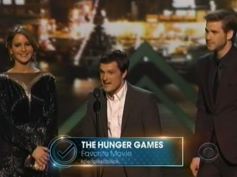 Hunger Games Favorite Movie People's Choice Award