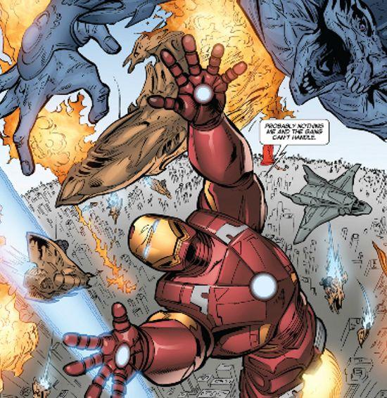 Iron Man 3 Prelude Chitauri