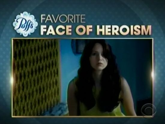 Jennifer Lawrence Favorite Face of Heroism