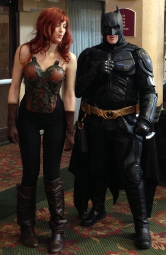 MACK Batman & Poison Ivy