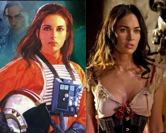 Megan Fox in Star Wars