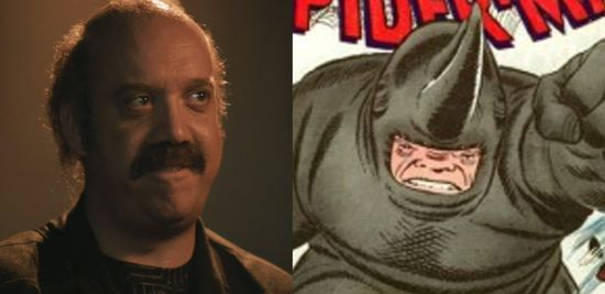 Paul Giamatti as The Rhino