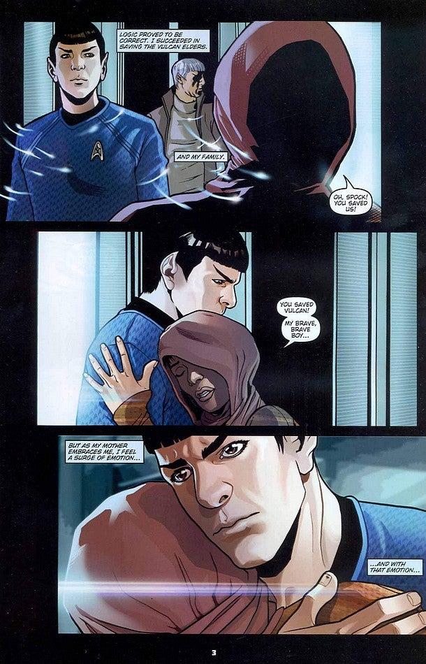 Star Trek Into Darkness: Spock Dooms the Enterprise in Movie Tie ...