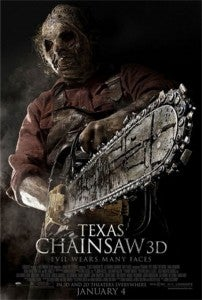 Texas Chainsaw 3D box office