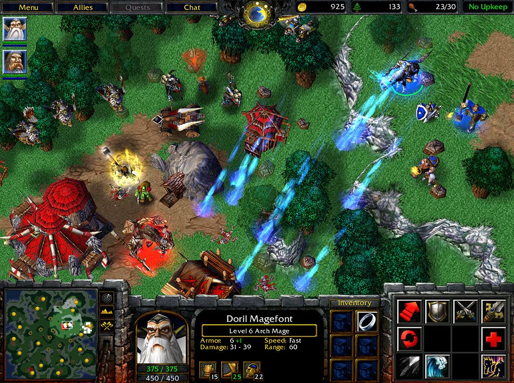 descargar warcraft 3 + expansion 1 link