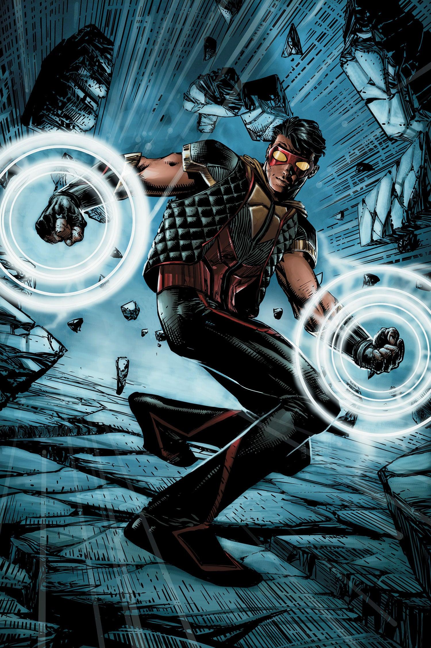 Arrow/Flash Concept: Vibe by IronAvenger1234 on DeviantArt