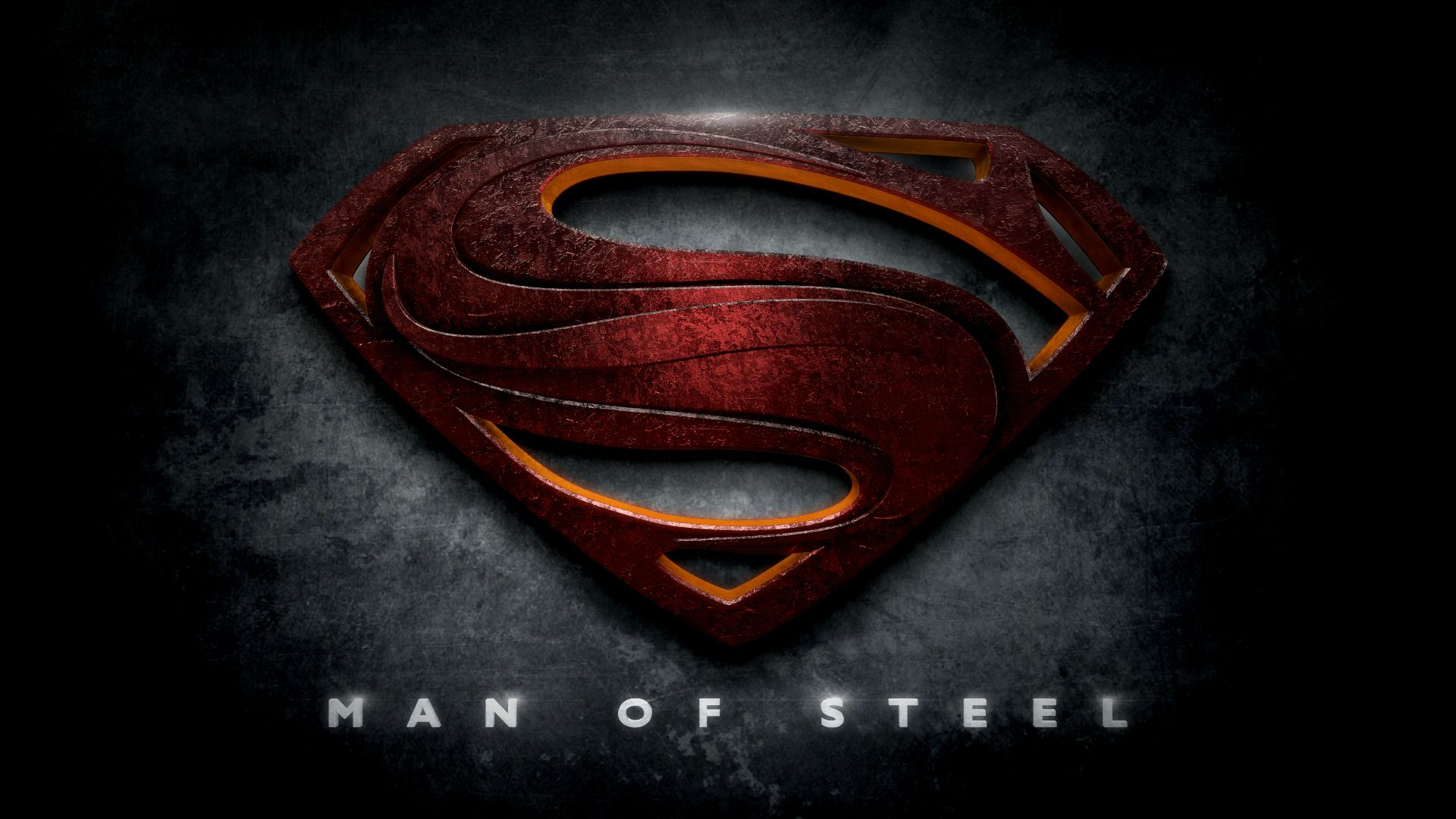 Justice League Movie Logos In the Style of Man of Steel