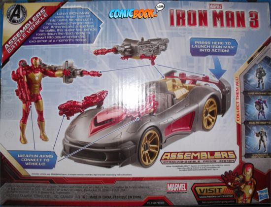 Iron Man 3 Battle Vehicle Back