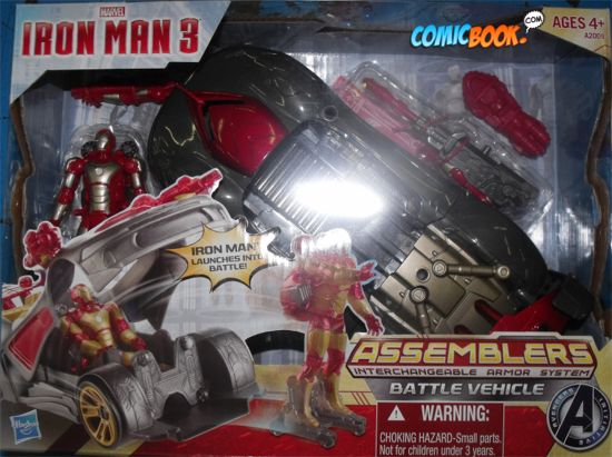 Iron Man 3 Battle Vehicle