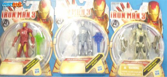 Iron Man 3 Action Figures