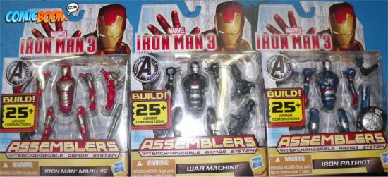 Iron Man 3 Action Figures