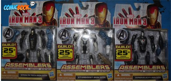 Iron Man 3 Action Figures Assemblers