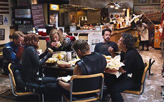 Avengers Shawarma