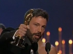 Ben Affleck Best Picture Oscar