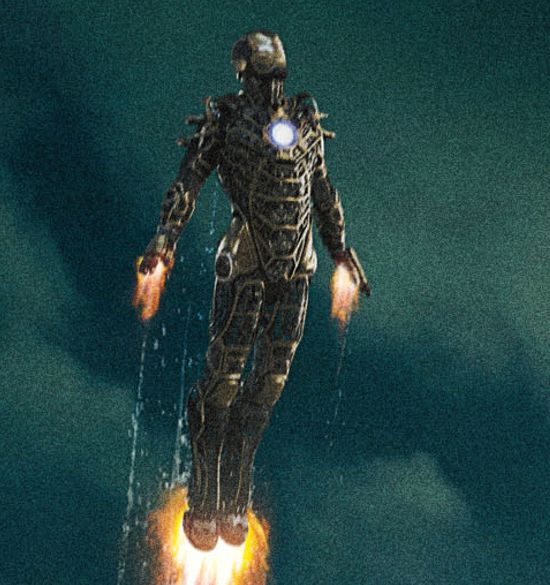 Iron Man 3 Poster: Seven Suits Of Armor Magnified To Identify