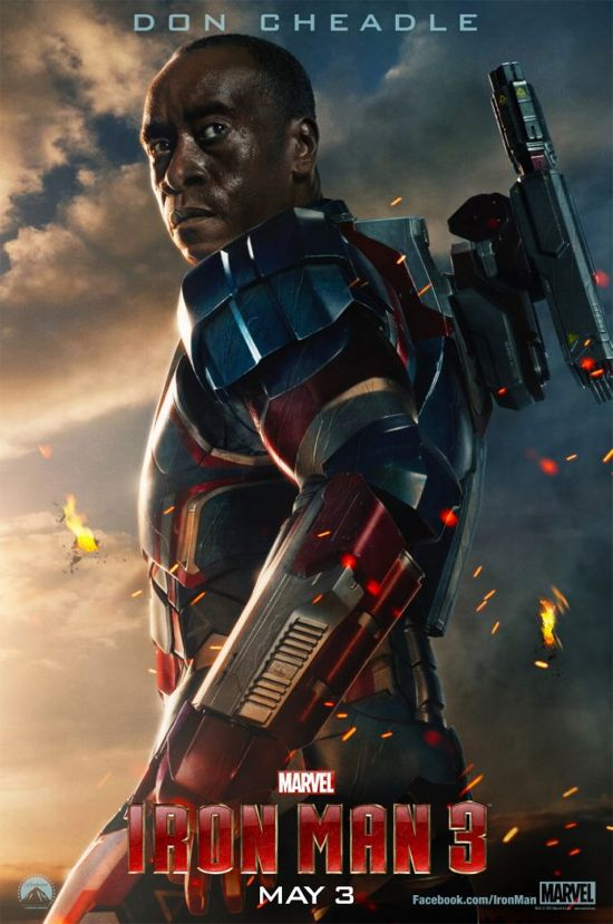 Iron man 3 Don Cheadle Poster