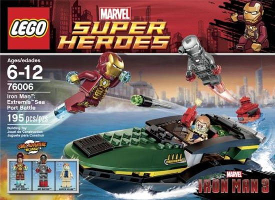 Iron Man 3 Extremis Seaport Lego