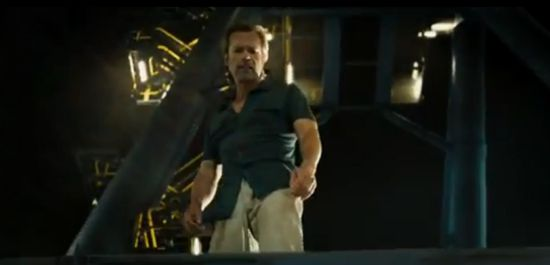 Iron Man 3 Extended Trailer  Five Questions Raised   Comicbook Guy Pearce Iron Man 3 Tattoos
