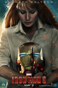 Iron Man 3 Gwyneth Paltrow Poster