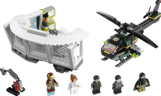 Iron Man 3 Malibu Mansion Attack Lego Figures