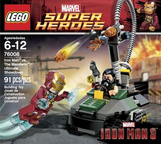 Iron Man Vs. The Mandarin Ultimate Showdown Lego