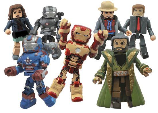 Iron man 3 Minimates Top Secret