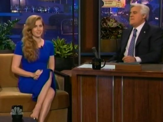 Man of Steel Amy Adams Tonight Show