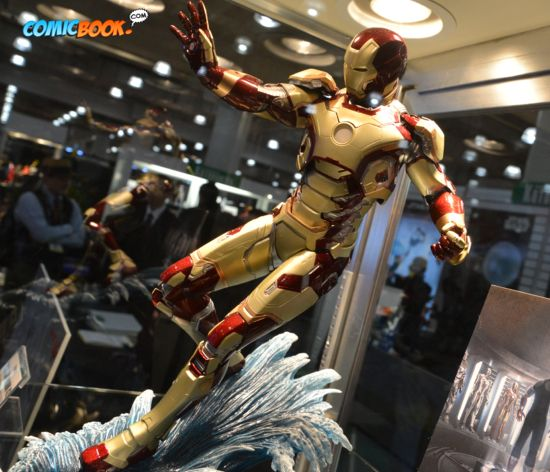 Toy Fair Iron Man 3 Display