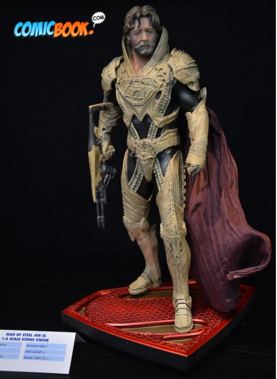 Toy Fair Man of Steel Jor-el