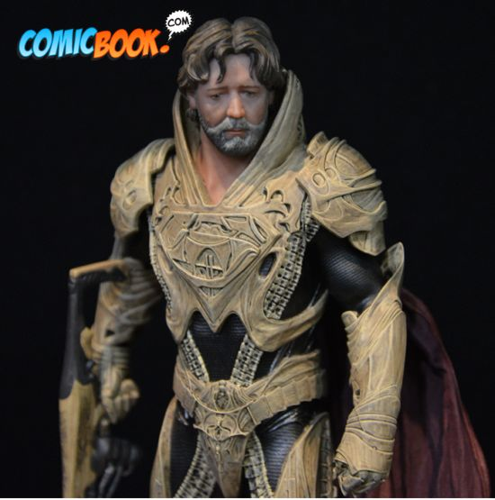Toy Fair Man of Steel Jor-el Closeup