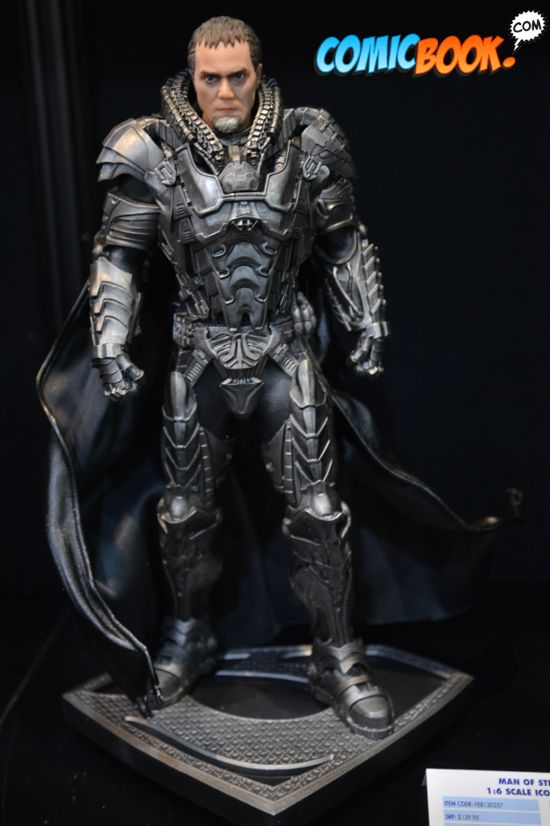 Toy Fair Man of Steel Zod