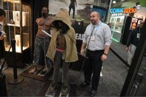 Toy Fair Walking Dead Michonne Display