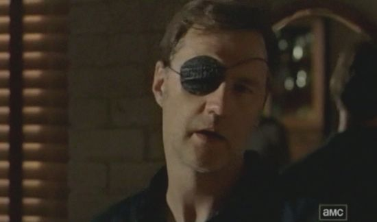 Walking Dead The Governor eye patch mirror
