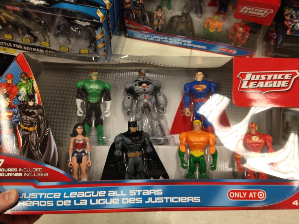 justice league toys bring new 52 look to target stores. Black Bedroom Furniture Sets. Home Design Ideas