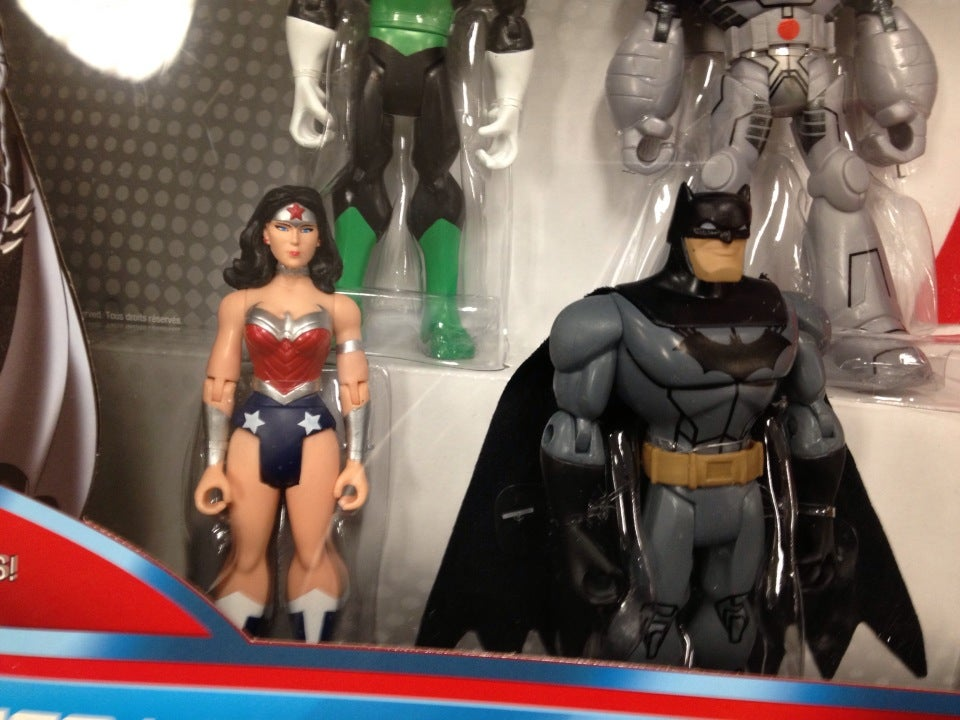 Green Lantern, Cyborg, Batman, Wonder Woman