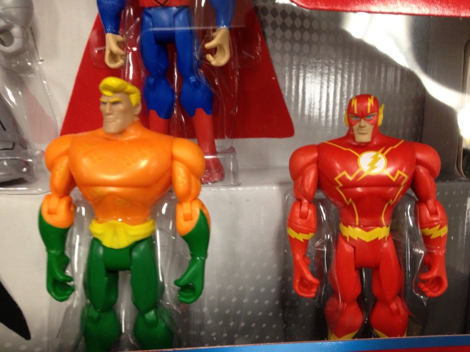 Flash, Aquaman