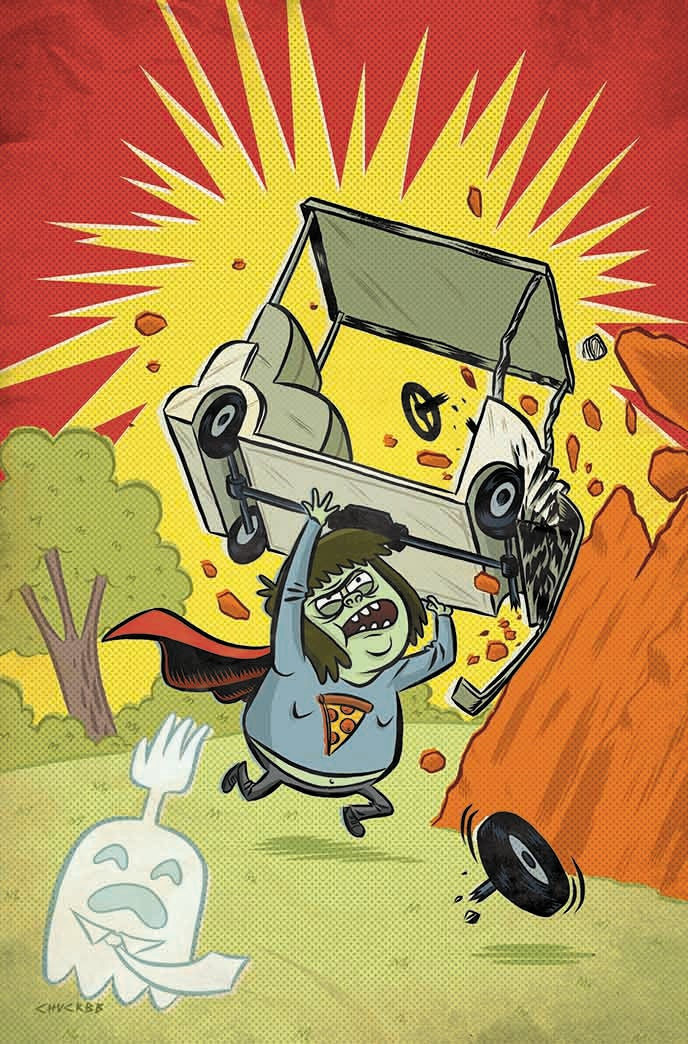 regular show 1 covers from boom studios finally revealed