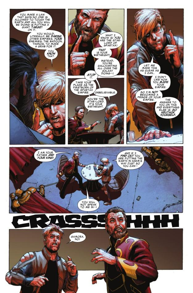 Guardians of the galaxy preview star lord s daddy issues continue