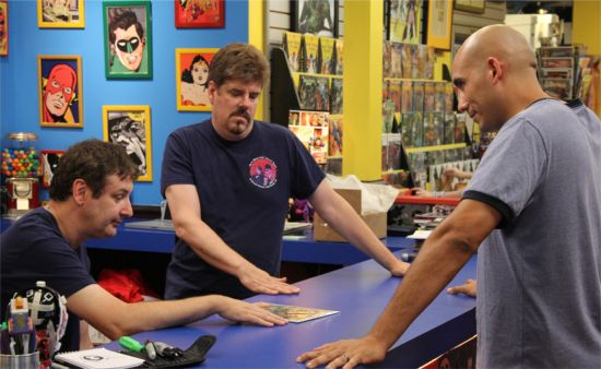 Comic Book Men Comic Charades