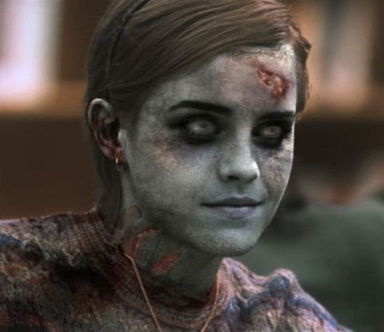 Emma Watson zombie The Walking Dead