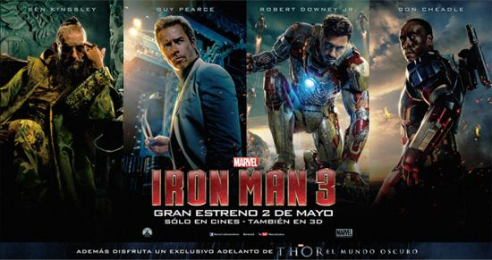 Iron Man 3 Thor The Dark World Trailer